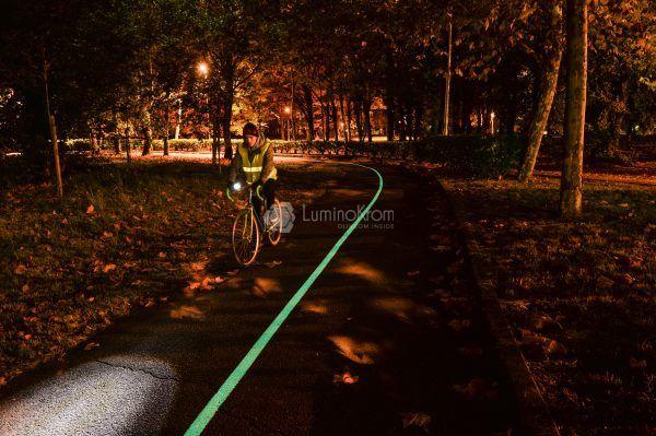 Fiches Peinture LuminoKrom Vision+ pour sécuriser la mobilité douce