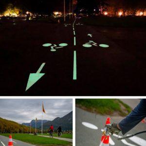 Piste cyclable sur Annecy