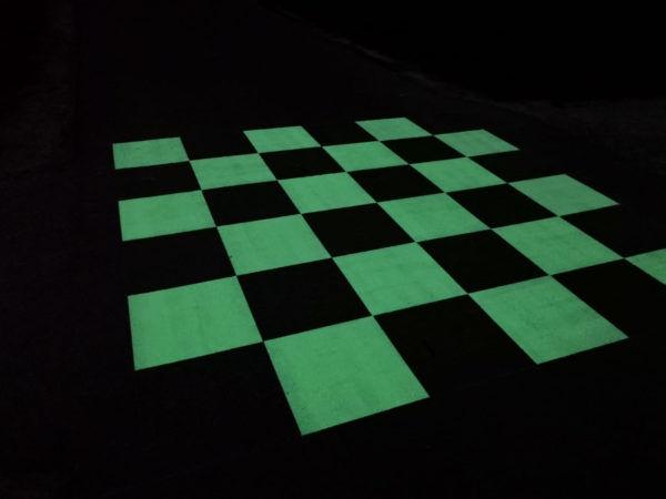 Passage-piéton photoluminescent – OliKrom©