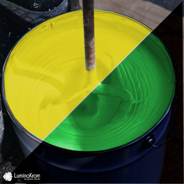 Fiches LuminoKrom urban painting - Yellow