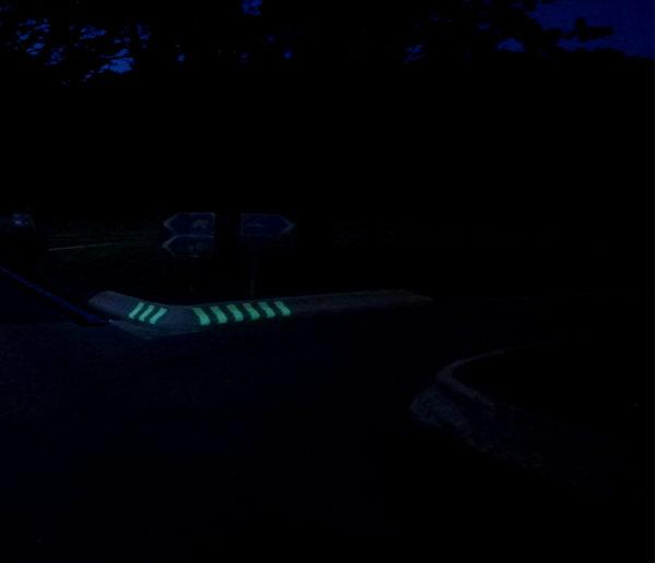 "Light beaconing of a SANEF ""Bois d´Huez"" Rest Area – OliKrom ©"