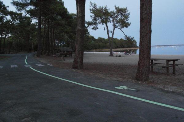Piste cyclable lumineuse LuminoKrom – OliKrom©