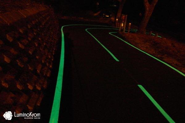 Luminescent edge strip - OliKrom©