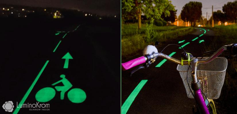 Marquage luminescent LuminoKrom – OliKrom©