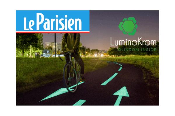 Piste cyclable lumineuse Piste cyclable lumineuse – OliKrom©
