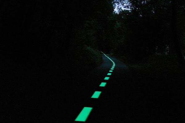 Piste cyclable lumineuse Namur (Belgique) – OliKrom©