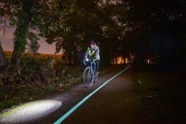 Phosphorescent cycle path - OliKrom©