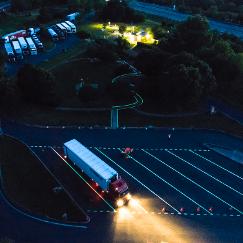 Marquage LuminoKrom Parking – OliKrom©