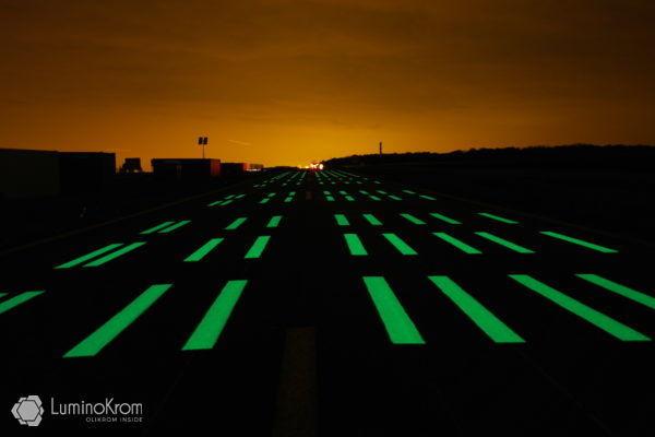 Marquage photoluminescent LuminoKrom – OliKrom©
